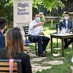Teach For Kosova's Inaugural Summer Institute