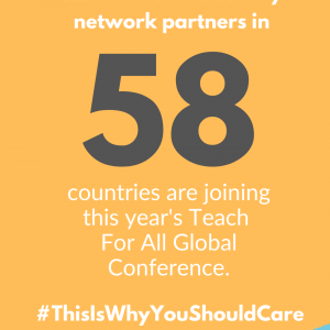 Teach For All Global Conference 2020